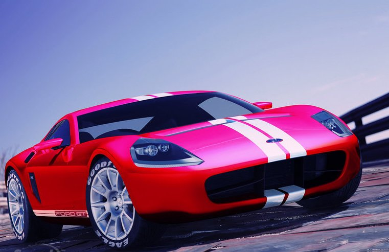 2015-Ford-GT-Pink