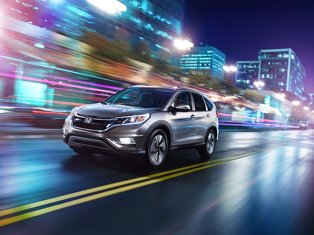 Honda Launches the Restyled and Significantly Upgraded 2015 CR-V