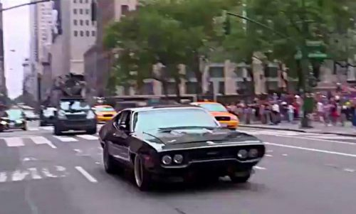 Dodge Charger 1971 года форсаж 8