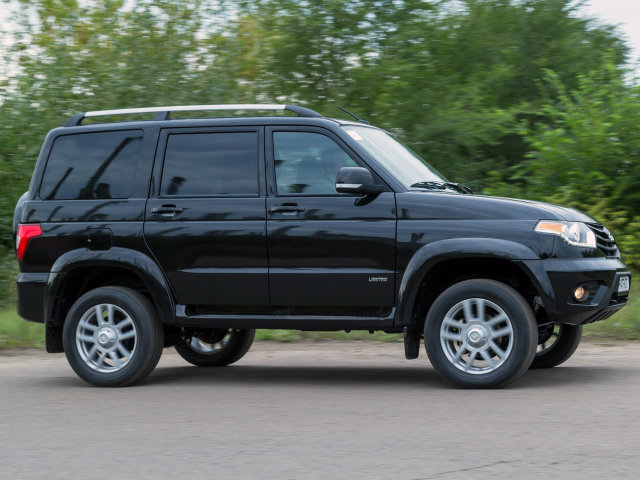 UAZ_3163 Patriot_SUV 5 door_2014