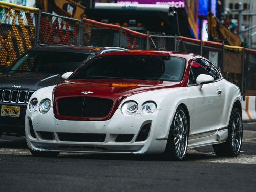 Bentley Continental GT форсаж 8